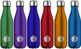 several different colors Refill.ie reusable water bottles